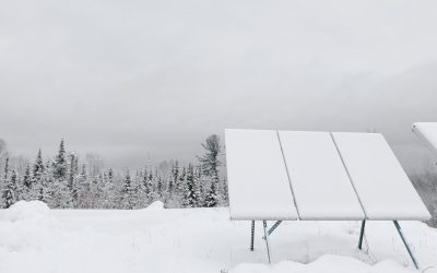 Why I Built Ground Mounts For My Solar Panels — SNOW REMOVAL
