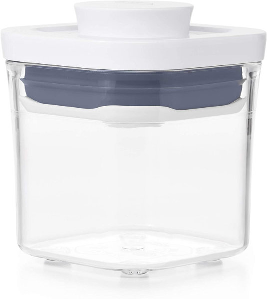 Air tight container for storing yeast