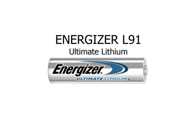 Lithium AA battery performs better in cold weather