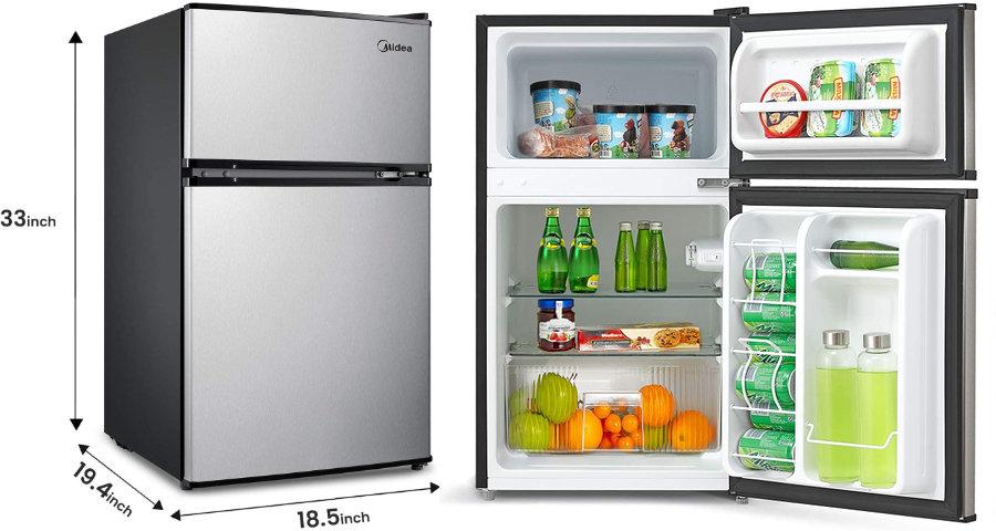 Best compact refrigerator freezer