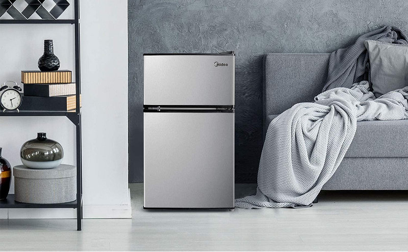 Compact Refrigerator Freezer For Solar Power Energy System