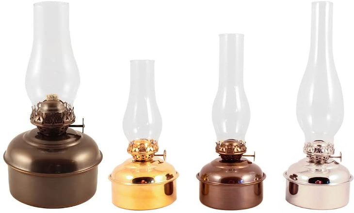 Vermont Lanterns oil lamps are one of the best for quality and preparedness.