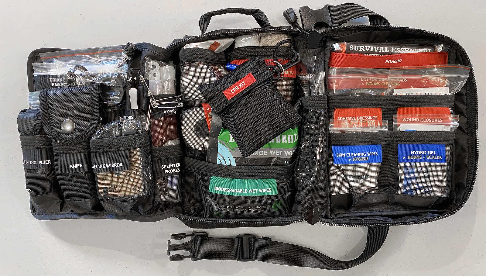 Surviveware Survival First Aid Kit nice bag.