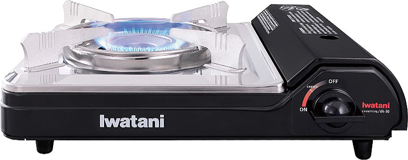 You can use a butane stove indoors.