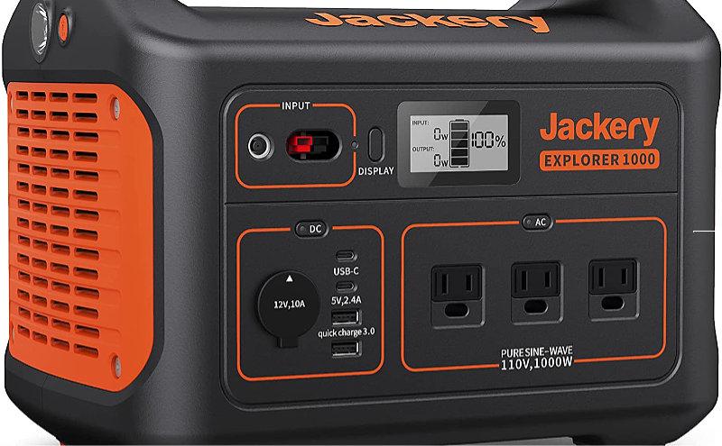 Jackery versus Gas Powered Generator